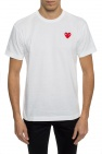 Comme des Garcons Play T-shirt with a heart motif