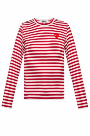 Striped top od Comme des Garcons Play