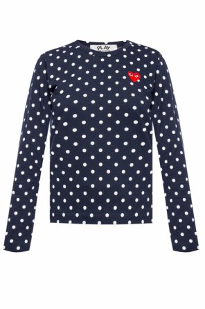 Polka dot top od Comme des Garcons Play