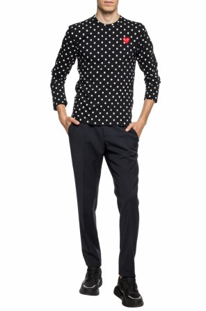 Polka dot t-shirt od Comme des Garcons Play