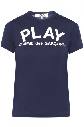 Printed logo t-shirt od Comme des Garcons Play