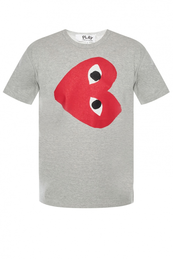 Comme des Garcons Play Logo-printed T-shirt