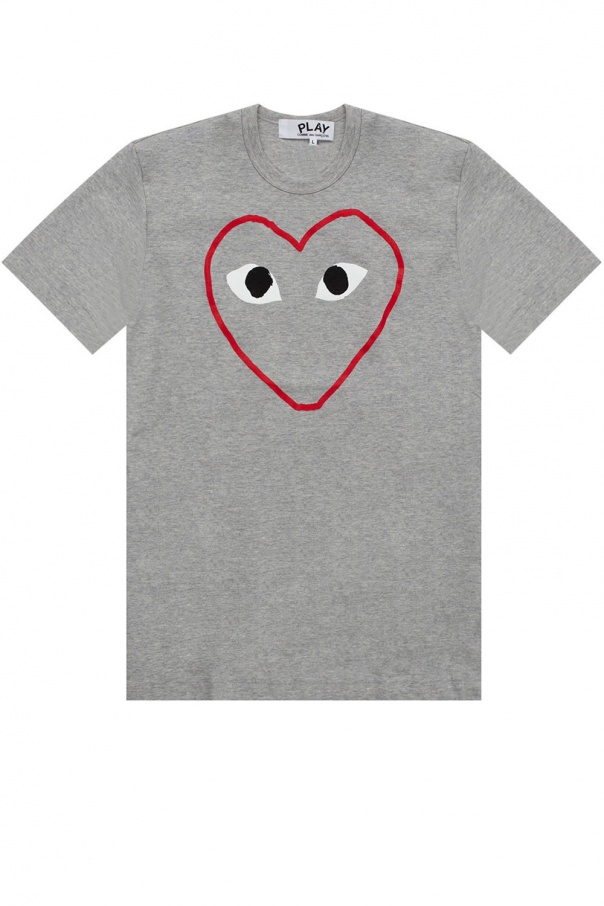 Comme des Garcons Play T-shirt with logo