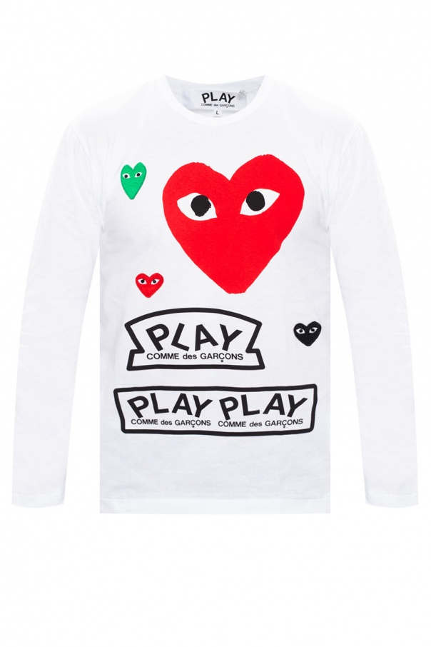 Comme des Garcons Play Long sleeve T-shirt