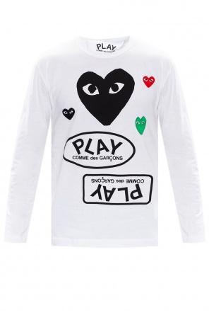 T-shirt z długim rękawem od Comme des Garcons Play
