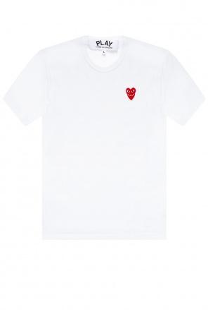 T-shirt z logo od Comme des Garcons Play