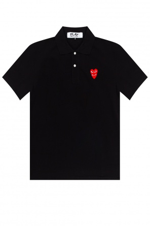 Polo shirt with logo od Comme des Garcons Play