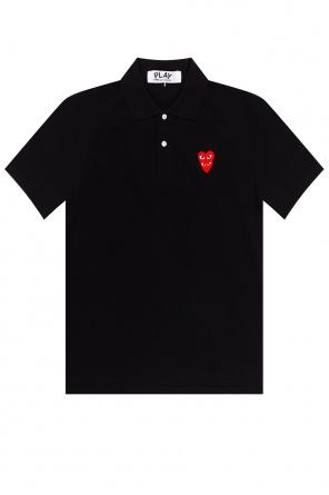 Polo z logo od Comme des Garcons Play