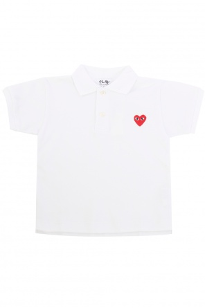 Patched polo od Comme des Garcons Play Kids