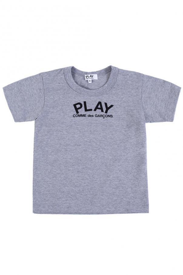 Comme des Garcons Play Kids Logo-printed T-shirt