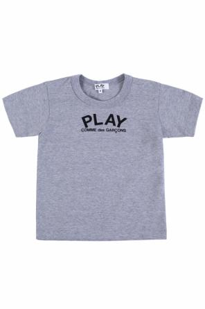 Logo-printed t-shirt od Comme des Garcons Play Kids