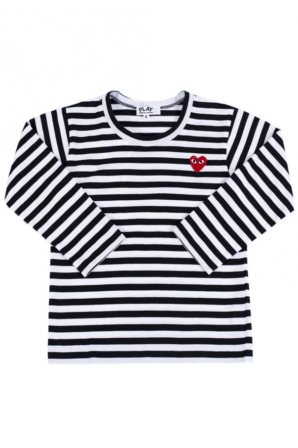 072dc689a3aade Long sleeve striped T-shirt Comme des Garcons Play Kids - Vitkac ...