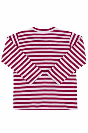 Long sleeve striped t-shirt od Comme des Garcons Play Kids