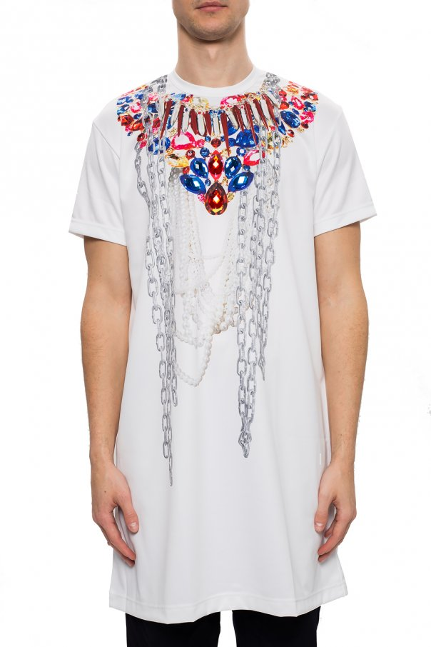 Comme des Garcons Homme Plus Długi t-shirt dBCLOfBU