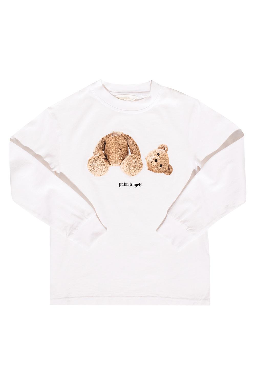 Palm Angels Kids Long-sleeved T-shirt