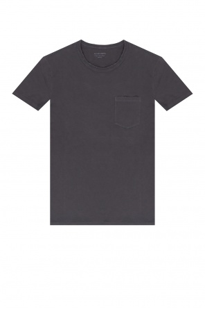 'pilot' t-shirt with raw edge od AllSaints