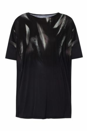 Printed 'plume' t-shirt od AllSaints