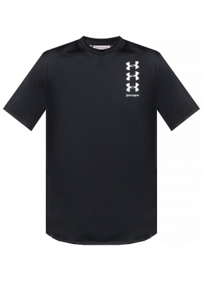 6f5635d854e ... T-shirt with logo pocket od Palm Angels