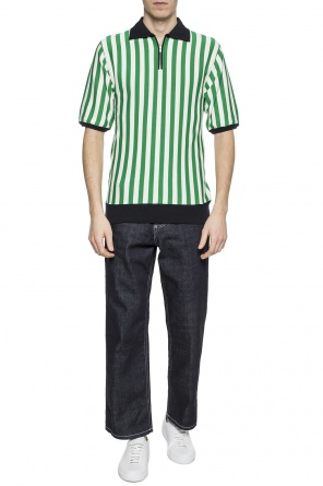 Patterned polo shirt od Marni