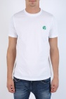 T-shirt z logo marki od Paul Smith