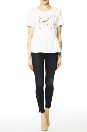 Ruffle t-shirt od Paul Smith