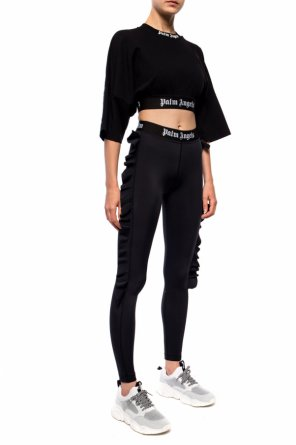 Branded crop top od Palm Angels