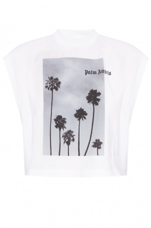 Sleeveless crop top od Palm Angels