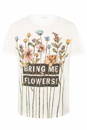 Printed t-shirt od Valentino Red