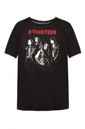 T-shirt with worn effect od R13