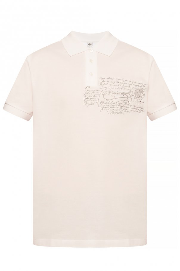 Berluti Patterned polo shirt