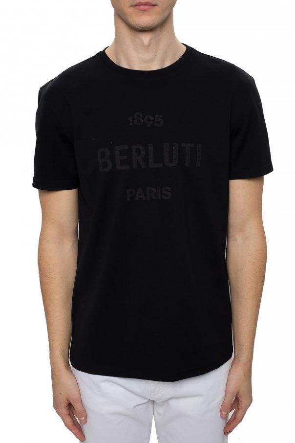 Berluti T-shirt z logo 4J5h23pz