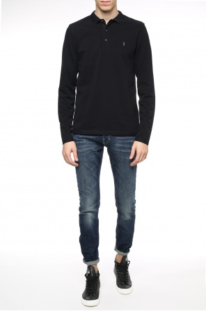Polo with long sleeves od Allsaints