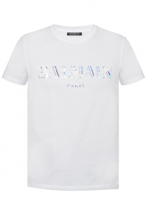Holographical t-shirt od Balmain