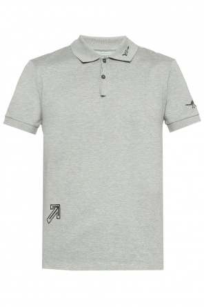 Embroidered polo od Lanvin