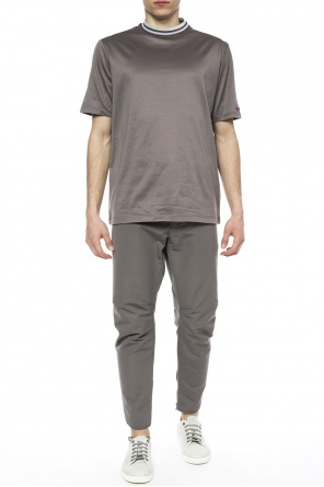 Decorative collar t-shirt od Lanvin