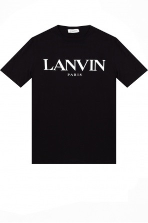 Logo t-shirt od Lanvin