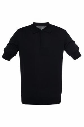 Elasticated cuff polo od Lanvin