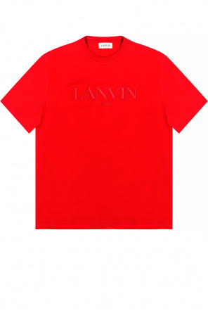T-shirt with logo od Lanvin
