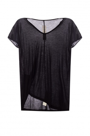 Gathered see-through t-shirt od Rick Owens