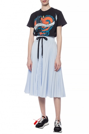 c10c3d22752 T-shirt with a printed pattern od Red Valentino ...