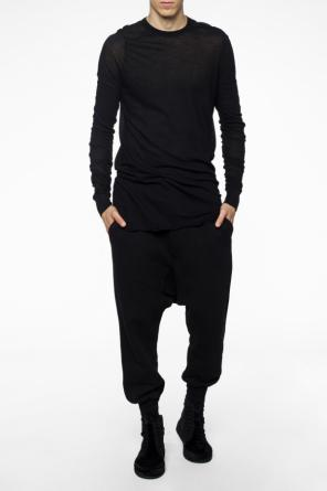 T-shirt with long sleeves od Rick Owens