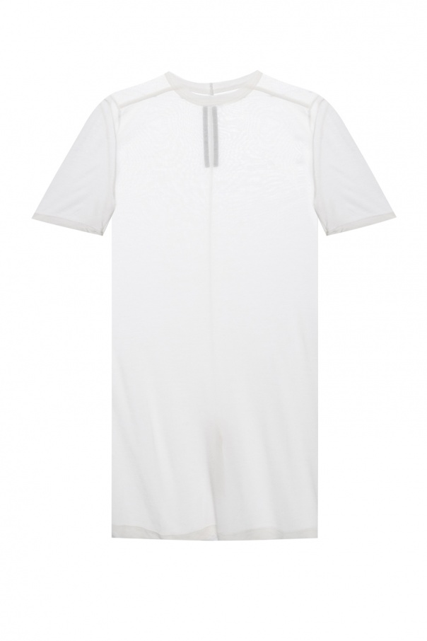 Rick Owens T-shirt with decorative stitching