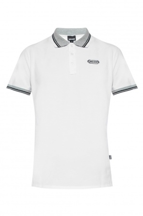 Logo-embroidered polo od Just Cavalli