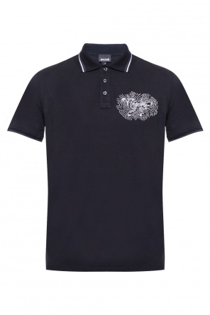 Embroidered polo od Just Cavalli