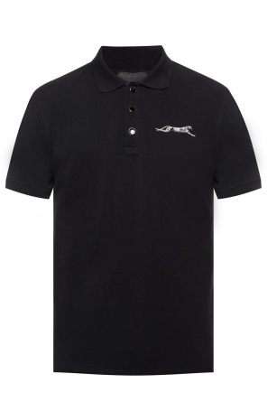 Animal motif patch polo shirt od Just Cavalli