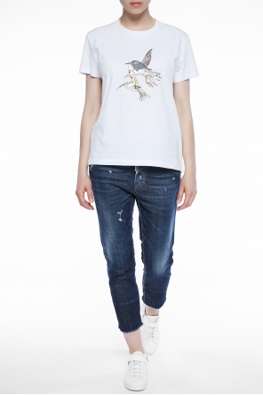 Appliqued t-shirt od Just Cavalli