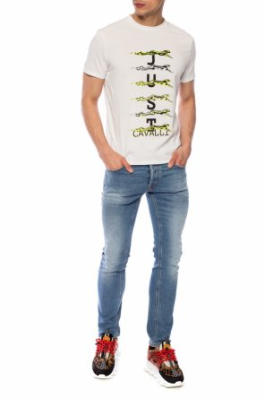 Embroidered t-shirt od Just Cavalli