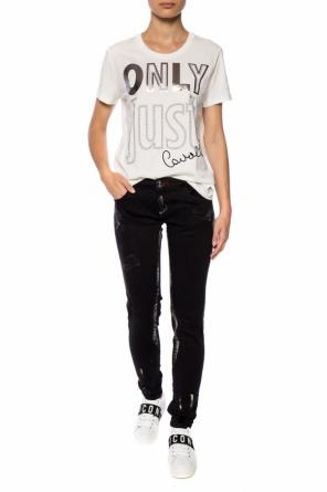 T-shirt with a crew neckline od Just Cavalli