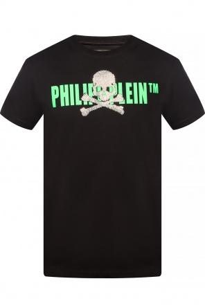 Logo-printed t-shirt od Philipp Plein