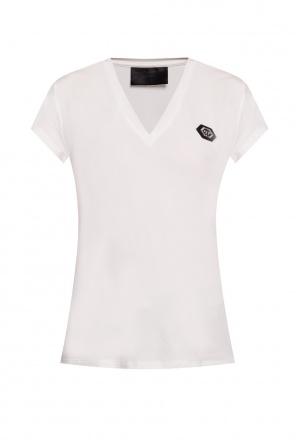 Logo-appliquéd t-shirt od Philipp Plein